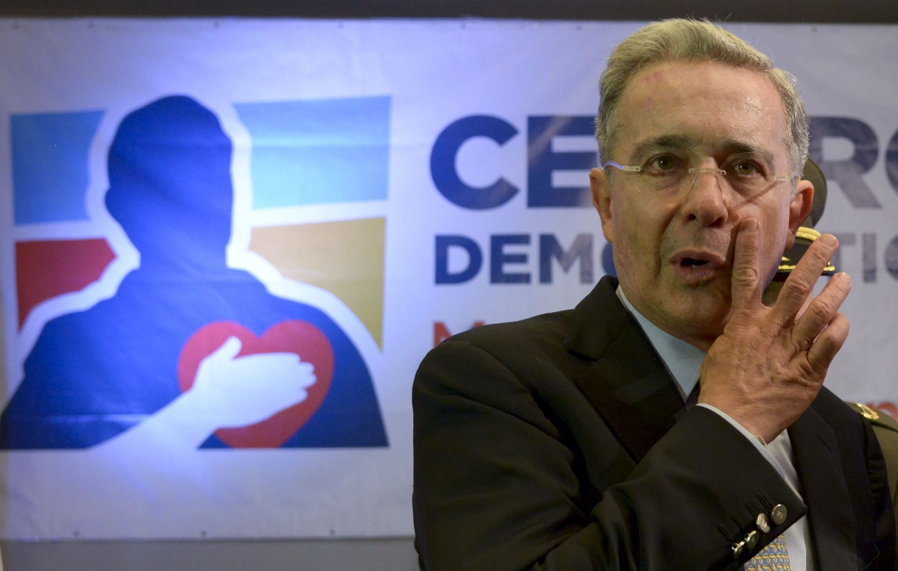 COLOMBIA-ELECTION-PARLIAMENTARY-URIBE